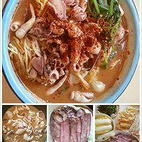 """""""水煮肉片""""(或""""水煮海鲜"""")的N种美味组合:四季水煮肉片的做法图解13"""