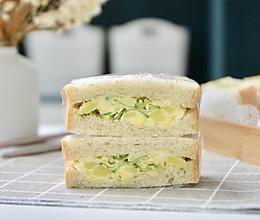 土豆泥沙拉三明治的做法