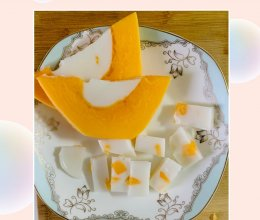 颜值超高的木瓜椰汁糕的做法