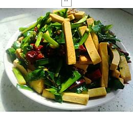 韭菜香干的做法