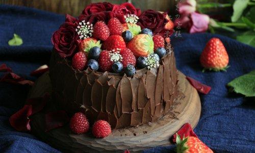 圣诞节巧克力蛋糕的做法