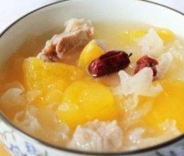 青木瓜银耳瘦肉汤的做法