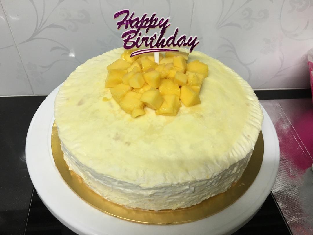 千层蛋糕的做法_千层蛋糕(芒果)的做法