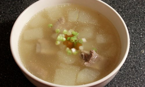排骨两吃-冬瓜排骨汤的做法