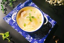 冬瓜腐竹肉丸汤的做法