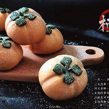 【柿柿如意】象形柿子绿豆沙包