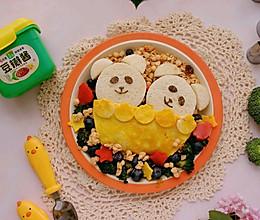 #一勺葱伴侣,成就招牌美味#小熊吐司牛肉饼三明治的做法