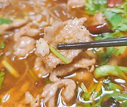 #巨下饭的家常菜#麻辣水煮肉片的做法