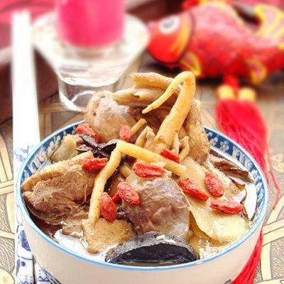 台湾姜母鸭