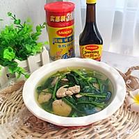 菠菜猪肝汤#美食美刻,乐享美极#