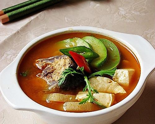 韩式辣鱼汤的做法