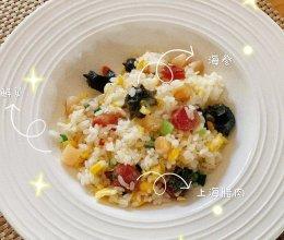 海参鲜贝什锦炒饭的做法