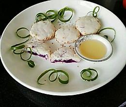 山药紫薯饼的做法