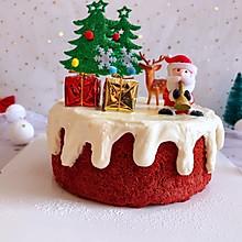 圣诞款红丝绒蛋糕