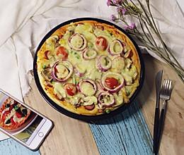 松软蘑菇披萨(二发版)的做法