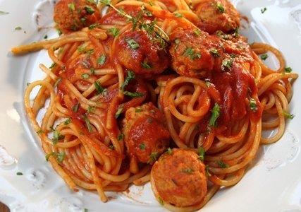 肉丸子義大利麵的做法