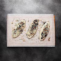 【鹦鹉厨房】原麦山丘主厨原创 - 玫瑰盐芝士软欧面包的做法图解7