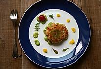 粒粒弹牙的吮指美味--【手作鲜虾饼】的做法