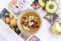 #憋在家里吃什么#营养暖心补肾的黑芝麻黑豆米糊的做法
