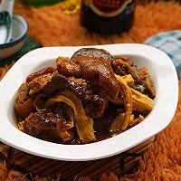 咖喱羊肉焖腐竹#咖喱萌太奇#的做法图解14