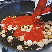 猪肉肠番茄意面#厨房有维达洁净超省心#的做法图解7