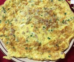 萝卜干煎蛋(潮汕小菜菜埔蛋)的做法