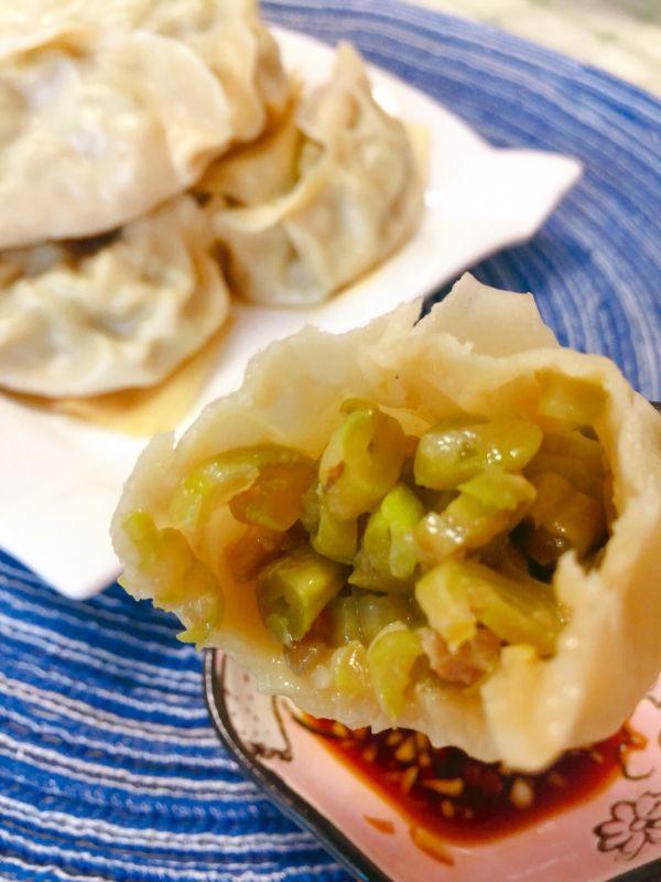 #美食新势力#豆角猪肉馅大蒸饺的做法