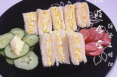 更阑食堂之鸡蛋三明治