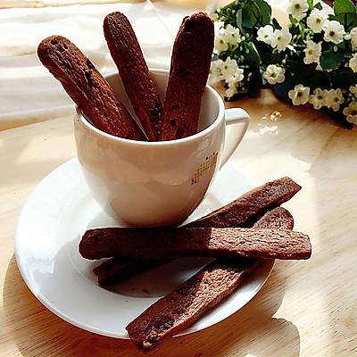 巧克力松软饼干棒