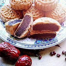 广式月饼之红枣红豆馅