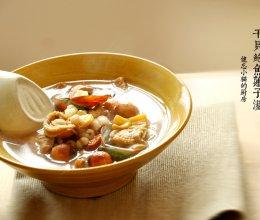 干贝鲍鱼莲子汤的做法