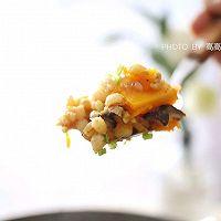 #精品菜谱挑战赛#一键式,糙米南瓜腊肉饭的做法图解9