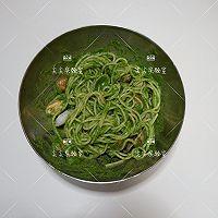菠菜青酱海鲜意面的做法图解8