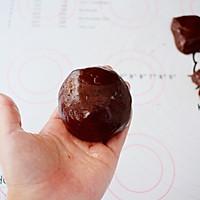 巧克力流心月饼的做法图解10