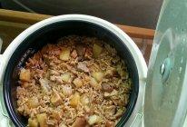土豆猪肉焖饭的做法