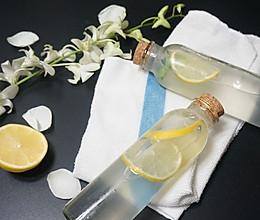 海盐柠檬苏打水#七彩七夕#的做法