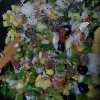 牛油果菠萝香肠焗饭的做法图解7