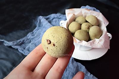抹茶蜜豆恐龙蛋