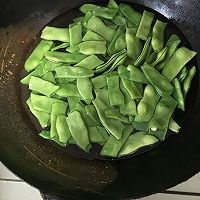 扁豆肉片的做法图解1