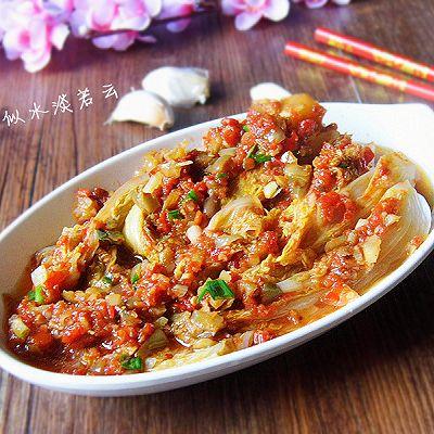 榨菜蒸娃娃菜---乌江榨菜