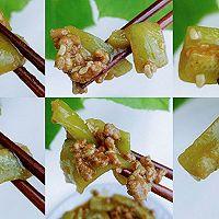 甜酒肉酱烧丝瓜的做法图解12