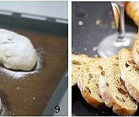 全麦葡萄干面包的做法图解5