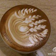 咖啡拉花,拿铁创意