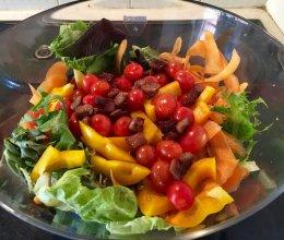 健身食谱之—牛肉沙拉的做法