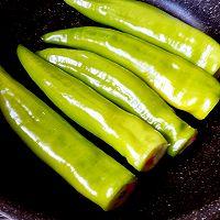 私家虎皮尖椒酿土豆泥的做法图解10