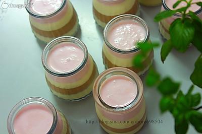 巧克力野莓酸奶幕斯