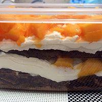 可可芒果盒子蛋糕(木糖醇)的做法图解13