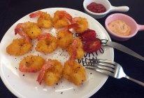 海苔凤尾虾的做法