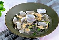 花蛤紫菜汤的做法
