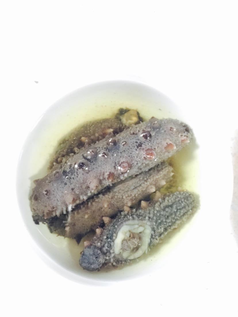 肉末海参的做法图解1